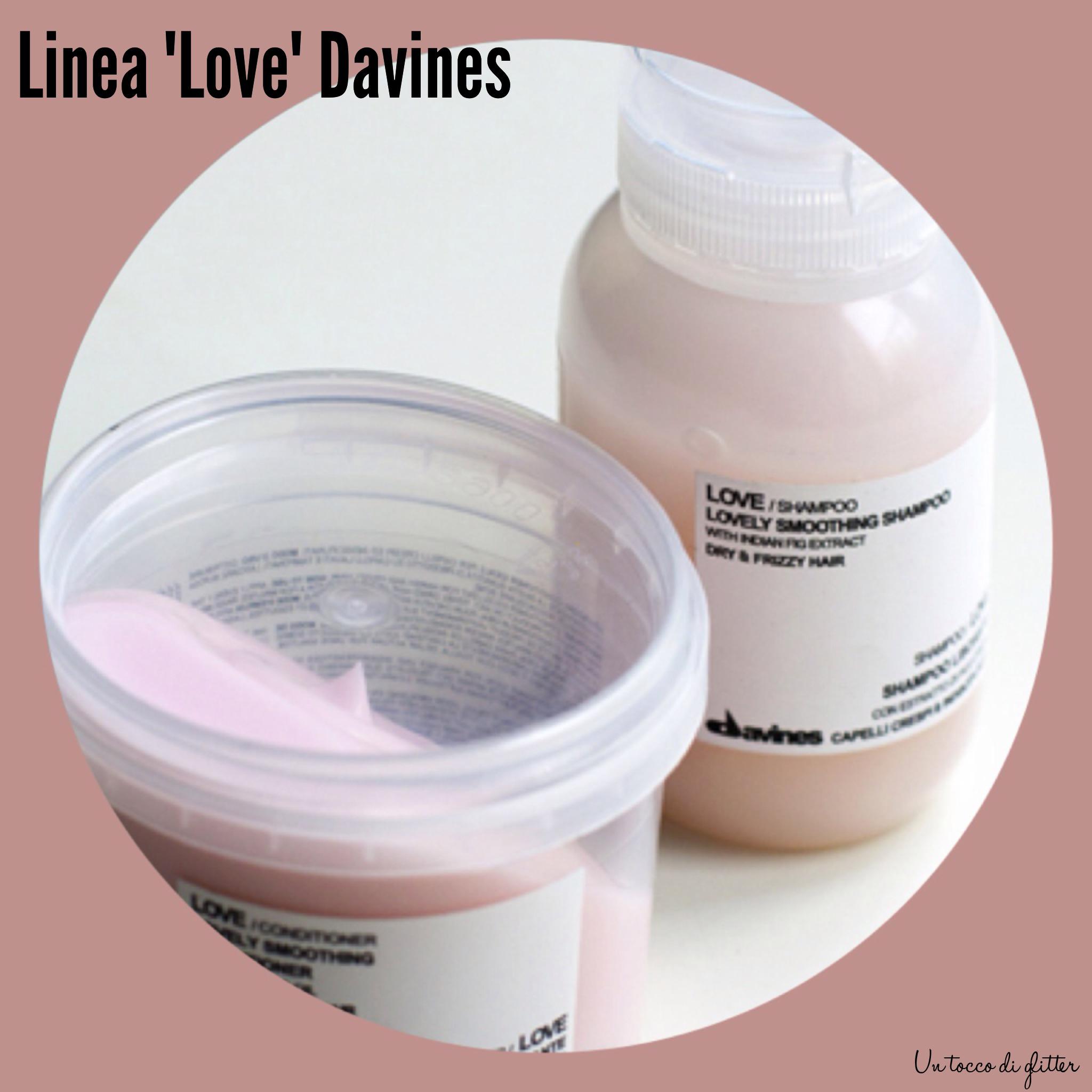 """Shampoo e maschera """"Love"""" Davines"""