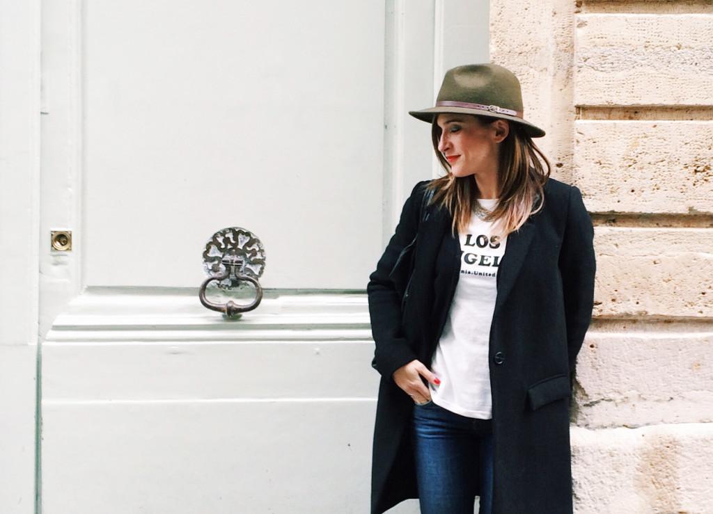 Valeria Moschet cappello Fedora Parigi
