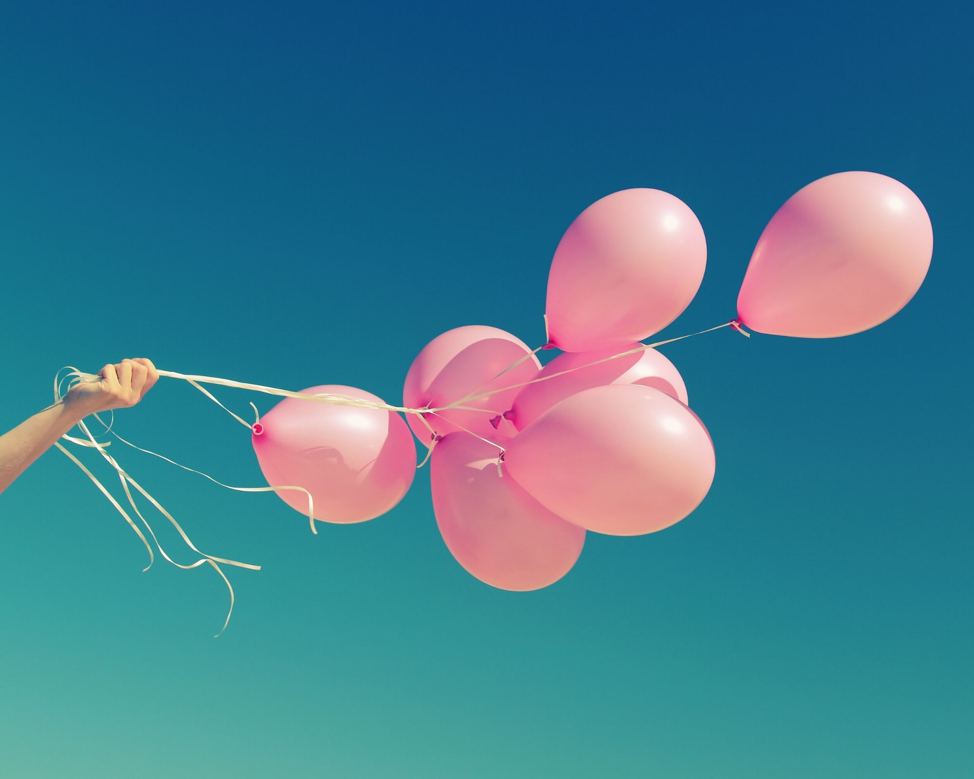 palloncini rosa bambina