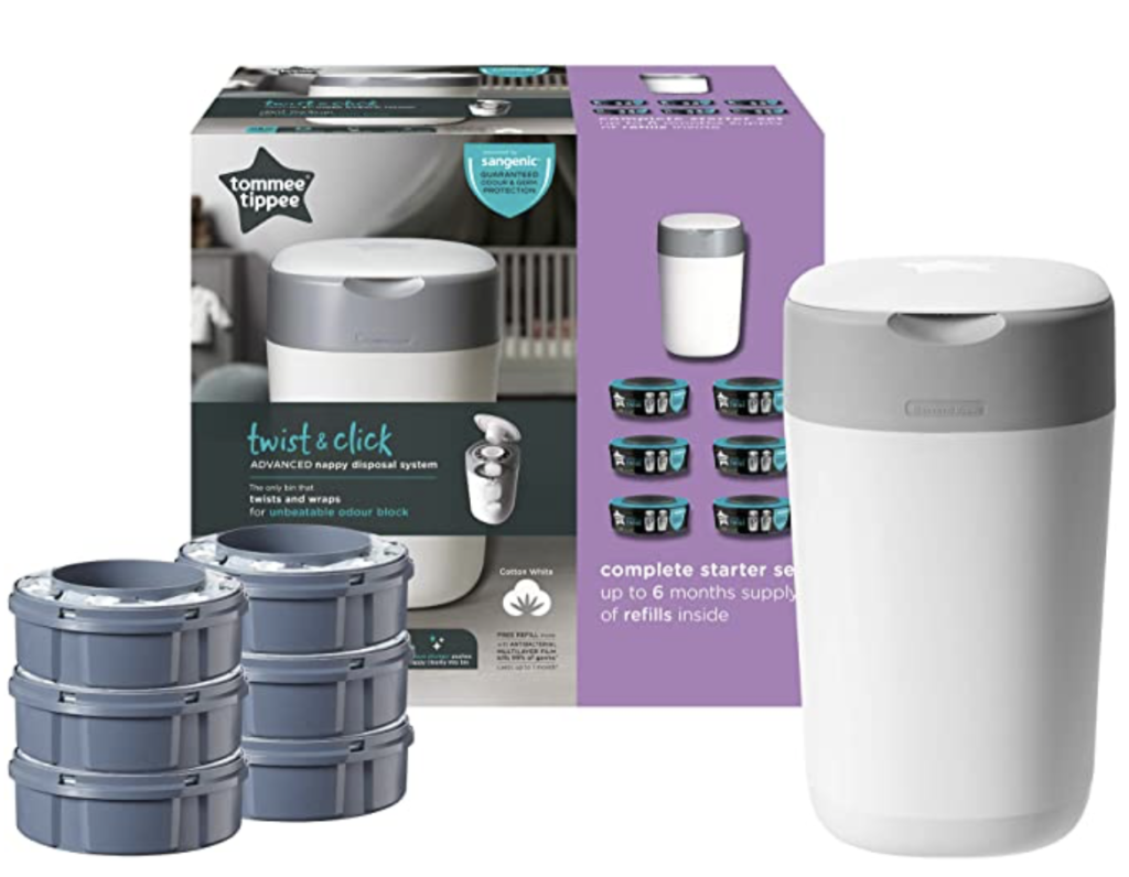 Contenitore sangenic Twist & Click Tommee Tippee