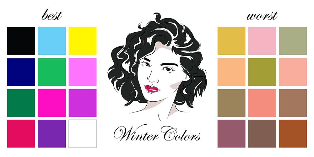 colori inverno armocromia