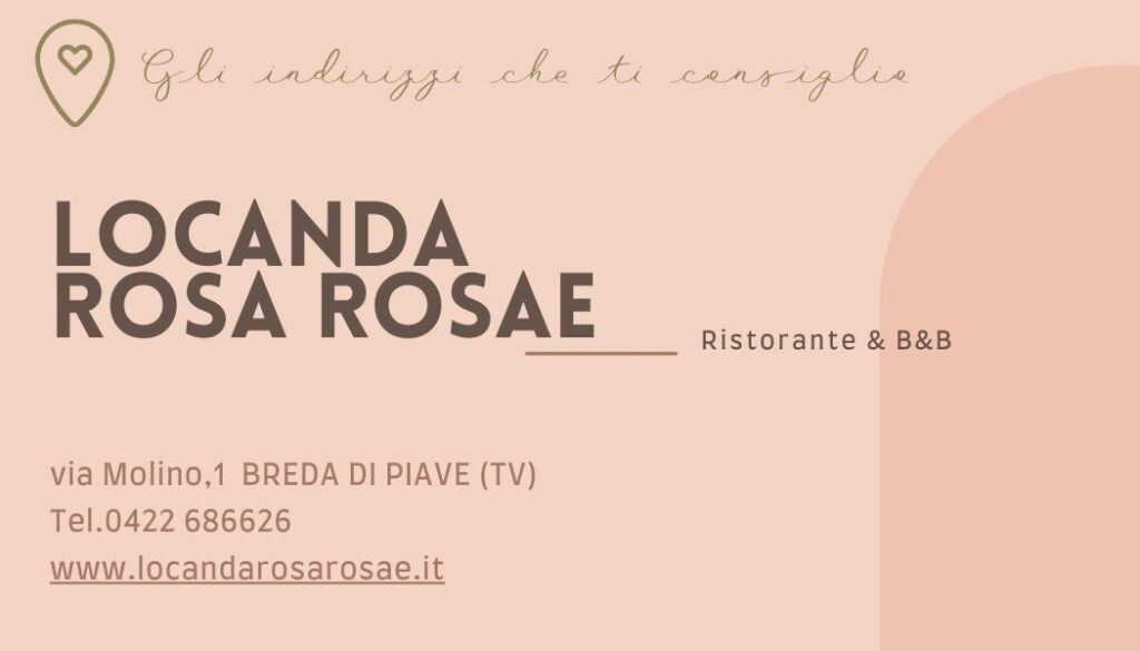 Locanda Rosa Rosae Breda di Piave Treviso